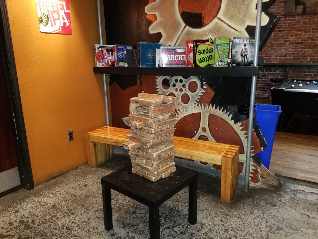 rhythm and booze Giant Jenga Games good fun bar - Rhythm ...