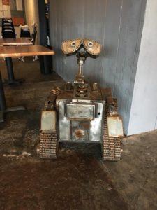 Rhythm and Booze South Metal robot Wal-E
