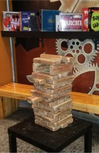 rhythm & booze board Games good fun bar Giant Jenga