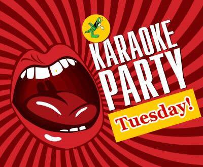 rhythm & booze Shawnee Kansas karaoke party every tuesday