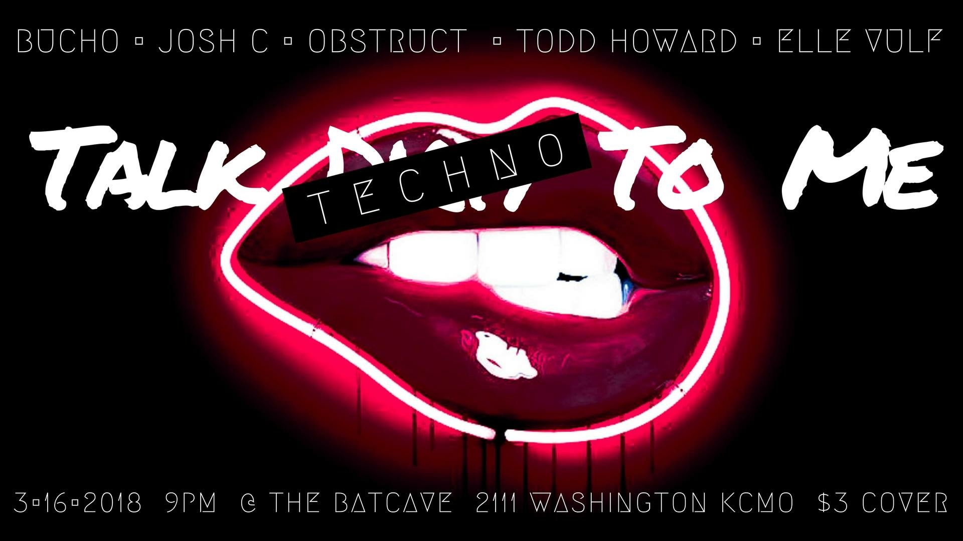 the BatCave @Rhythm & Booze Talk Techno to me