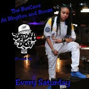 the BatCave @Rhythm & Booze Saturday DJ Baby Boi April 2018
