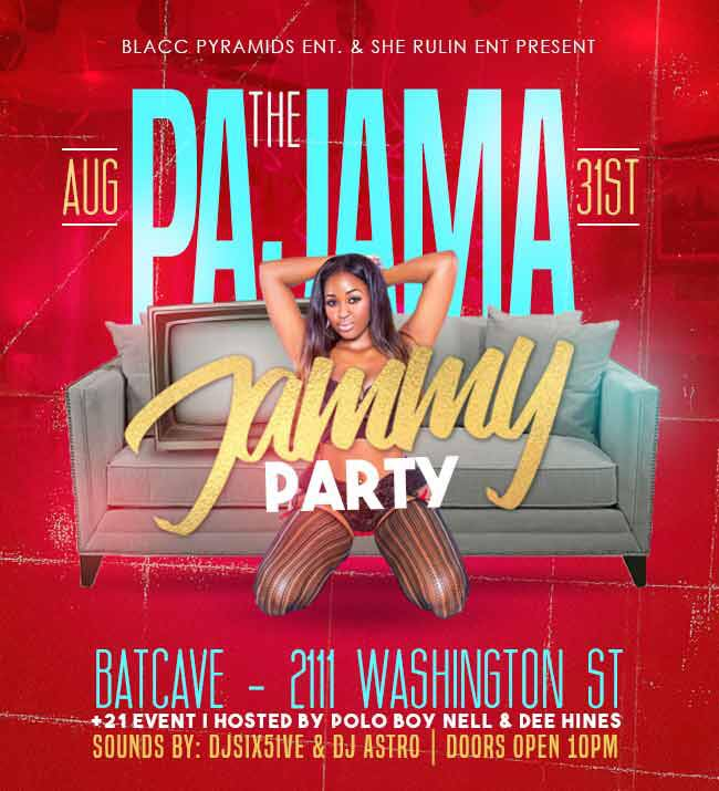 The Pajama Jammy Party at the Bat Cave