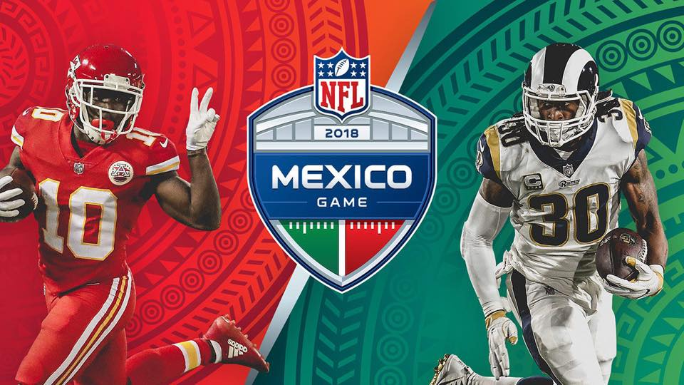 RhythmBooze-Chiefs v Rams in Mexico 11-19-18